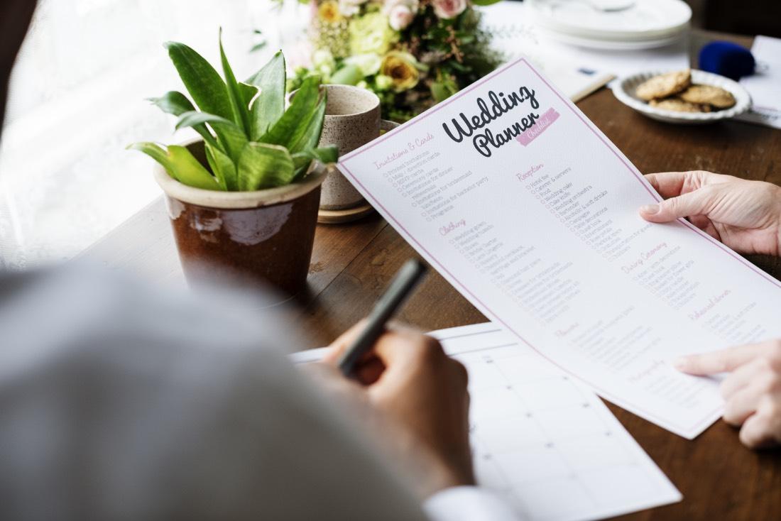 Hochzeitsplaner Checklist