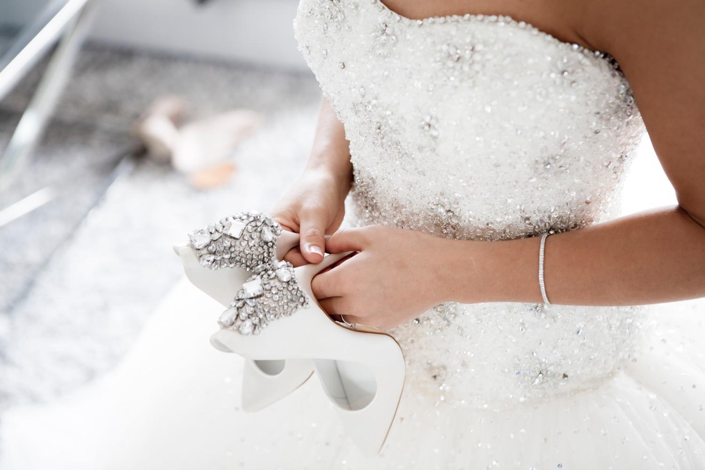 Brautkleid nach der Hochzeit